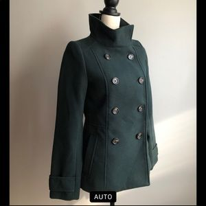 H&M Forest Green Wool Jacket